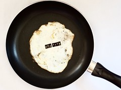 No egg yolk (Charlotte P.Denoel) Tags: contemporaryart conceptual conceptart art foodart eggart good egg