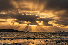 L`Eree beach (Ian Toms) Tags: hanoislighthouse leree channelislands cloudporn clouds guernsey guernseylife guernseystyle locateguernsey pleinmont sea sealife seascape sky skyporn sunset visitguernsey water waves westcoast winter