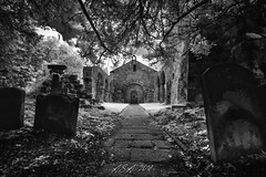 "Whorlton Church (""A.S.A."") Tags: whorlton northyorkshire church churchyard infrared830nm sonya7rinfrared830nm sonyzeissvariotessarfe1635mmf4 blackwhite mono monochrome greyscale niksoftware silverefex asa2018 swainby"