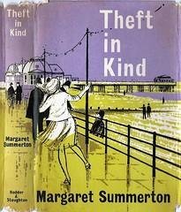 Theft in Kind (54mge) Tags: hodder pier crime novel margaretsummerton beach