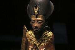 King Tut (hammerwold) Tags: king tut tutankhamun egypt egyptian pharaoh california science center exposition park los angeles mummy archeology