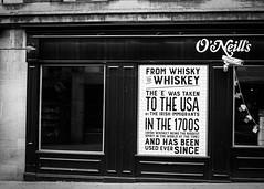 Whiskey (Reckless Times) Tags: whiskey whisky bar pub oxford mono blackwhite blackandwhite street photography 100x project