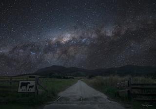 Milky Way Ahead