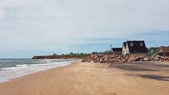 Day 2 - Along the beach near the community of Bassin (Bobcatnorth) Tags: lesilesdelamadeleine magdalenislands quebec canada summer 2018 cycling velo bicycle bicycling cycletouring bicycletouring touring tourdevelo gulfofstlawrence