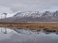 P1010602 (Eric_Lumix GX80) Tags: mountain mirror lake iceland island landscape nature reflection gx80