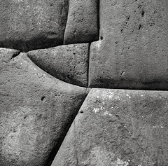 Inca Stonework, Sacsayhuaman, Cusco, Peru (austin granger) Tags: inca stonework masonry blocks fitted shapes lines sacsayhuaman cusco peru square film abstract gf670 wall fortress citadel evidence