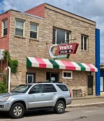 Venice Pub & Pizzeria, Ishpeming, MI (Robby Virus) Tags: ishpeming michigan mi up upper peninsula venice pub pizza pizzeria supper club sign signage italian restaurant bar grill