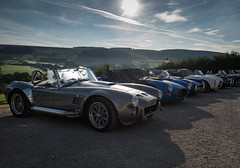 Cobra Dawn II (Hector Patrick) Tags: dng flickrelite leicaq lightroom614 northyorkshire rosedaleabbey whitehorsefarminn yorkshire britnatparks cars leica sunlight outside cobra auto dawn day lens scenicsnotjustlandscapes northyorkmoorsnationalpark morning sun ac