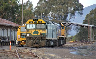 G520 and X48 stabled in Ararat yard
