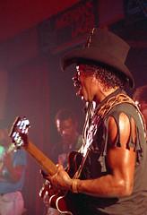 img089a (V8 Badger) Tags: f45 80200 mitakon slr 35mm a1 canon 1000 ektar kodak film 1991 festival blues international redcar guitar guitarist band taylor koko