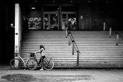 . (Stéphane Dégremont) Tags: streetphotography blackandwhiteonly noiretblanc toulouse blackandwhite street light stéphanedégremont