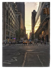 58th Street/Broadway - NYC (Ansel2015) Tags: nycstreets sunset