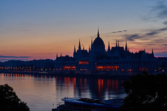 Budapest at Dawn (AgarwalArun) Tags: sony a7m2 sonyilce7m2 landscape scenic nature views europe centraleurope hungary budapest danube river hungarian night reflection budapestatdawn sunrise