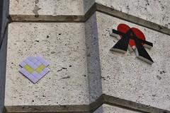 Mr Djoul + A2_2707 rue du Chevaleret Paris 13 (meuh1246) Tags: streetart paris mosaïque mrdjoul a2 rueduchevaleret paris13 alien