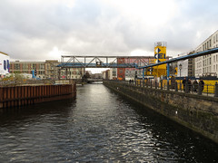 Spreekanal - a short canal parallel to the Spree river (IceCal) Tags: berlin spreekanal