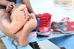 IMG_6789 (postfach0799) Tags: feet fetish fetisch füsse schuhe sneakers socken sock socks dirty soles black sexy women nike air max jorden jordan super toes smell shoes