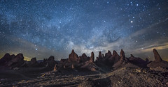 Planet Vulcan (Night Scapes) Tags: steverengers milkyway tronapinnacles pinnacles californiadesert nightsky nightscape trona