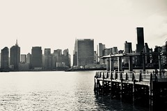 United Nations From Queens (Markettius) Tags: nikon d7100 af24mm queens ny lic nyc vintagelens