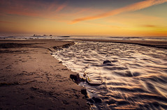 Stream (Manuela Durson) Tags: oregon oregoncoast southernoregon coast coastal coastline beach sunset sand water ocean oceanscape seascape horizon sunsetoverwater over sunsetoverocean seastacks seastack