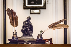 Ink well and quill (Ray Duffill) Tags: hedontownhall hedon artefacts history