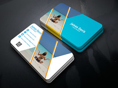 Creative-Business-card (MD SHUVO HOSSAIN) Tags: black blue businesscard clean color colorful colour colourful corporate creative design designer elegant green mono namecard pattern pink print professional simple stylish template unique white