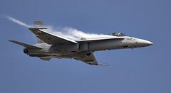 F/A-18 Hornet (Bernie Condon) Tags: riat airtattoo tattoo ffd fairford raffairford airfield aircraft plane flying aviation display airshow uk fa18 hornet boeing fighter bomber military warplane jet swiss swissairforce
