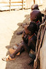 plotting (rick.onorato) Tags: africa ethiopia omo valley tribes tribal dassanech children shade