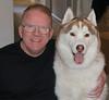 Me and Maverick (Jeffrey Beall) Tags: dogs maverick moi siberianhuskies husky