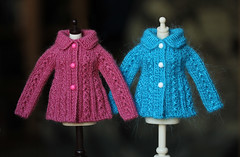 #126 (Ulanna) Tags: blythe knitting handmade outfit clothes sweater cardigan pullover jersey jacket jumper