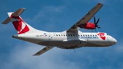 OK-KFO / ATR 42-500 / ČSA Czech Airlines (PBe1958) Tags: transportation lietadlo aircraft airplane aero aeroplane airliner propliner atr at45 42500 prg pragueruzynevaclavhavel csa csaczechairlines