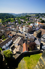 Richmond From Above (Benjamin Driver) Tags: richmond northyorkshire north yorkshire house building buildings scape cityscape town country countryside castle richmondcastle colour color summer 2018 5d canoneos5dmark4