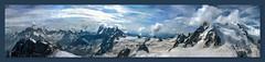 Le Massif du Mont-Blanc (Xtian du Gard) Tags: xtiandugard montagne paysage montblanc peinture painting alpes france