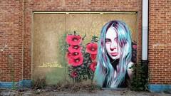 Kitsune / Lokeren - 4 aug 2018 (Ferdinand 'Ferre' Feys) Tags: belgium belgique belgië streetart artdelarue graffitiart graffiti graff urbanart urbanarte arteurbano ferdinandfeys
