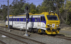 Track Inspection Vehicle MTPV2 at St Marys NSW 07-08-2018 (Paul Leader - Paulie's Time Off Photography) Tags: mtpv mtpv2 maintenance nswgovernment stmarysnsw trackinspectionvehicle railpage:class=391 railpage:loco=mtpv2 rpautm rpautmmtpv2 olympus olympusomdem10 paulleader trainspotting train locomotive loco engine diesel railway rail railroad nsw newsouthwales australia nswrailways