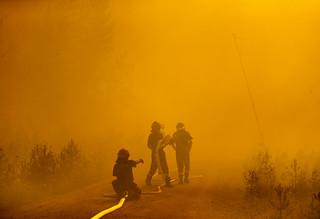 Sweden: fighting forest fires