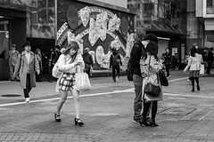 Scribbles (burnt dirt) Tags: asian japan tokyo shibuya station streetphotography documentary candid portrait fujifilm xt1 bw blackandwhite laugh smile cute sexy latina young girl woman japanese korean thai dress skirt shorts jeans jacket leather pants boots heels stilettos bra stockings tights yogapants leggings couple lovers friends longhair shorthair ponytail cellphone glasses sunglasses blonde brunette redhead tattoo model train bus busstation metro city town downtown sidewalk pretty beautiful selfie fashion pregnant sweater people person costume cosplay boobs