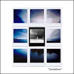 Isolation, no.1  [Instax variation, 3x3] (art y fotos) Tags: pinhole fujifilm sq10 instax square squareformat instant film hilobay hilo bigisland hawaii mosaics