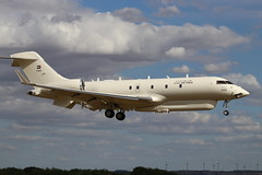 """""""Dolphin Two"""" UAE GLEX 1325 (Modified Bombardier BD700 Global 6000) (robertetienne) Tags: bombardier bd700 global6000 cambridgeairport marshallaerospaceanddefence uaeairforce 1325 dolphintwo projectdolphin modifiedaircraft secretaircraft surveillanceaircraft spyplanes aircraft airplanes jets aviation glex military"""