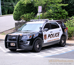Bedford Police Department Car 38 (Seth Granville) Tags: bedford new york police department pd westchester county hills katonah 2017 ford interceptor suv cvpi car 38