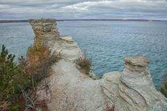 (mariefrance2010) Tags: cliff lakesuperior picturedrocks nature fall michigan upperpeninsula color