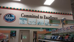 Committed to Excellence (Retail Retell) Tags: oakland tn kroger millennium décor era store mirror image twin doppelganger reversed carbon copy former hernando ms fayette county retail 2018 remodel fresh local neighborhood flair historical images captions