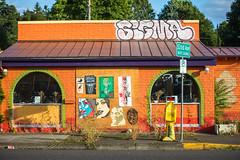 Let's Go Down to Taco Time and Get Some Dinner (Thomas Hawk) Tags: america oregon pdx portland tacotime usa unitedstates unitedstatesofamerica westcoast abandoned closed graffiti restaurant us fav10 fav25