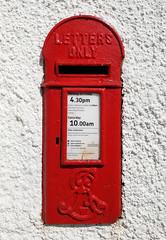 Purton EviiR Lamp Box (R~P~M) Tags: purton lydney glos gloucestershire england uk unitedkingdom greatbritain forestofdean postbox letterbox mailbox lampbox gl15100 edwardvii