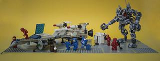 6929 - Flea market found Starfleet Voyager