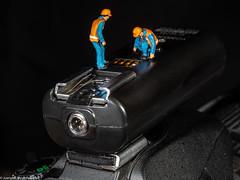 HMM Macro Monday Photography Gear - Select Channel (J.Weyerhäuser) Tags: macromondays photographygear hmm channel flash tinypeople preiser h0 187 macro studio tabletop