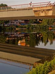 P6031468 (mukherjee_ab) Tags: bridge reflection water river arno