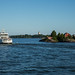 A caminho da Ilha Suomenlinna