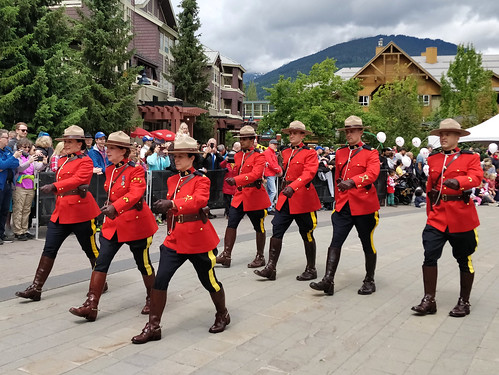 Marching Mounties