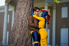 SP_61074 (Patcave) Tags: xmen jeangrey jean grey scottsummers scott summers phoenix cyclops comic book comicbook movie tv superheroes superhero superheroine 2017 atlanta georgia cosplay shoot model cosplayers costume costumers sigma 85mm f14 canon 5d3 1740mm f4 lens