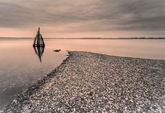 The Eagle's Head (Arendshoofd) in Den Osse, Zeeland (Alona Azaria) Tags: denosse holland netherlands nederland arendshoofd longexposure leefilters seascape